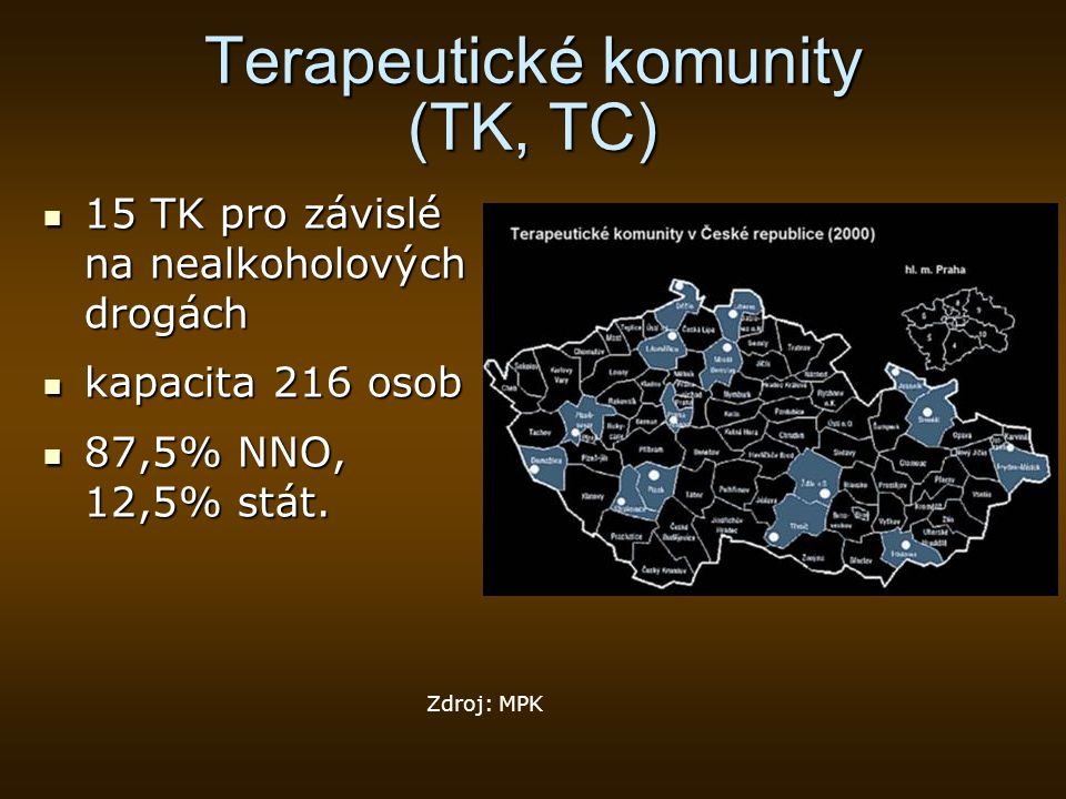 Terapeutické komunity (TK, TC)