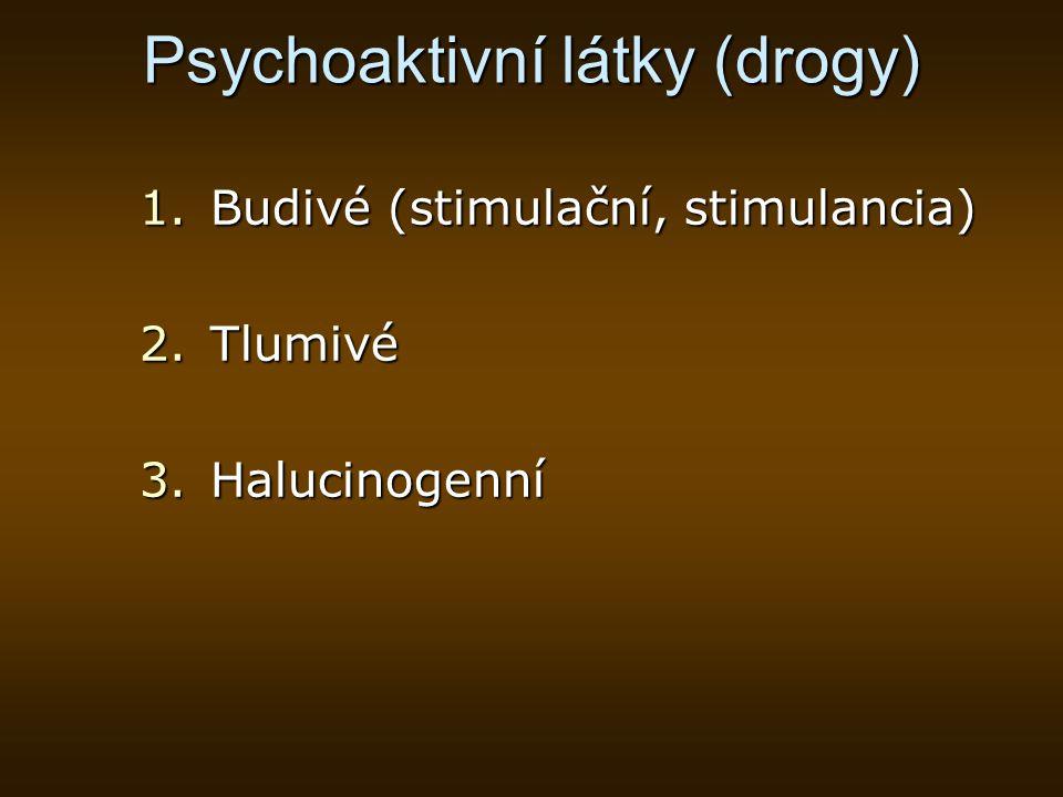 Psychoaktivní látky (drogy)