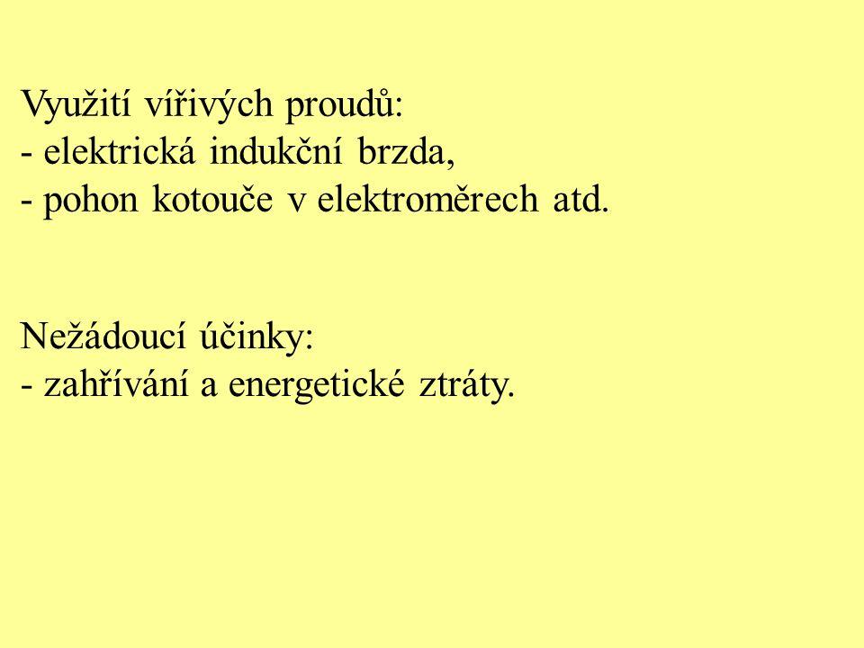 Využití vířivých proudů: