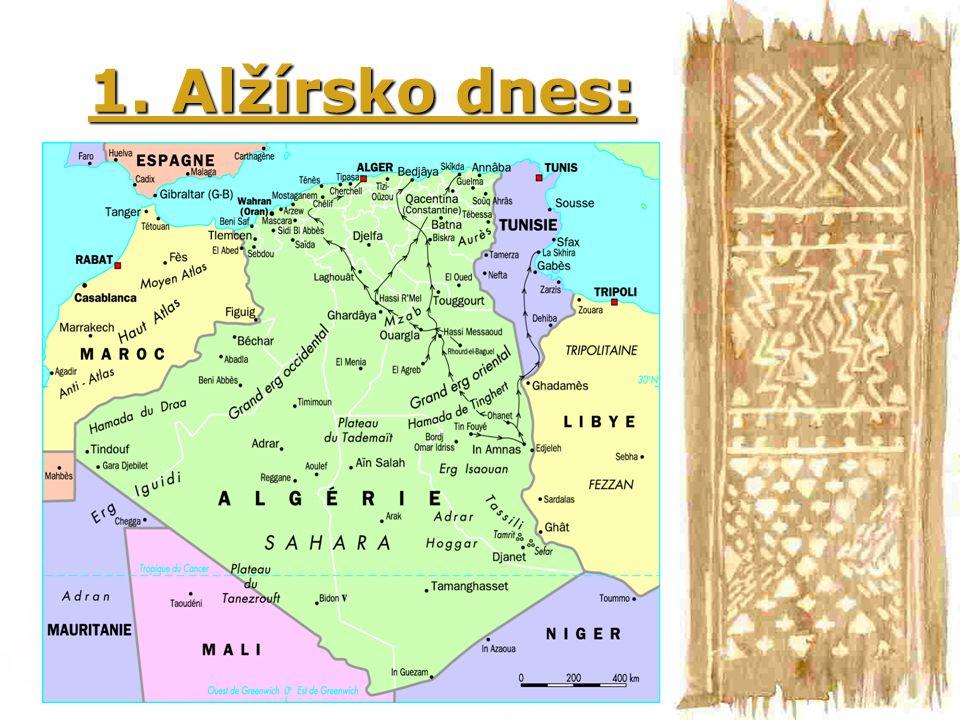 1. Alžírsko dnes: