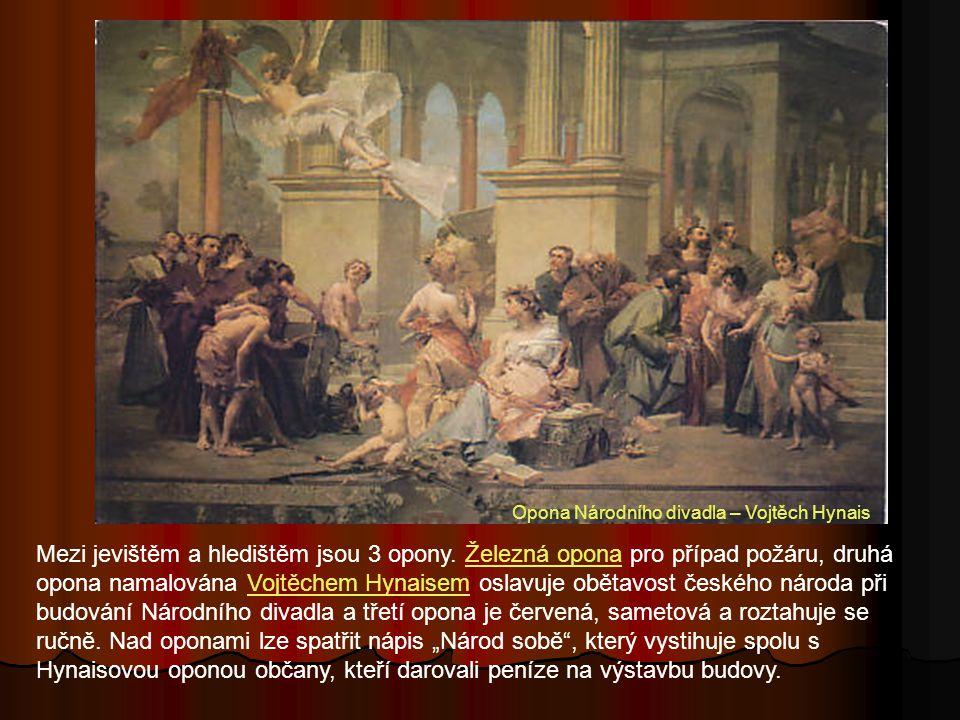 Opona Národního divadla – Vojtěch Hynais