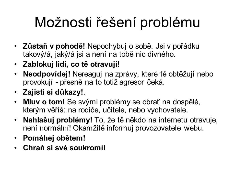 Možnosti řešení problému