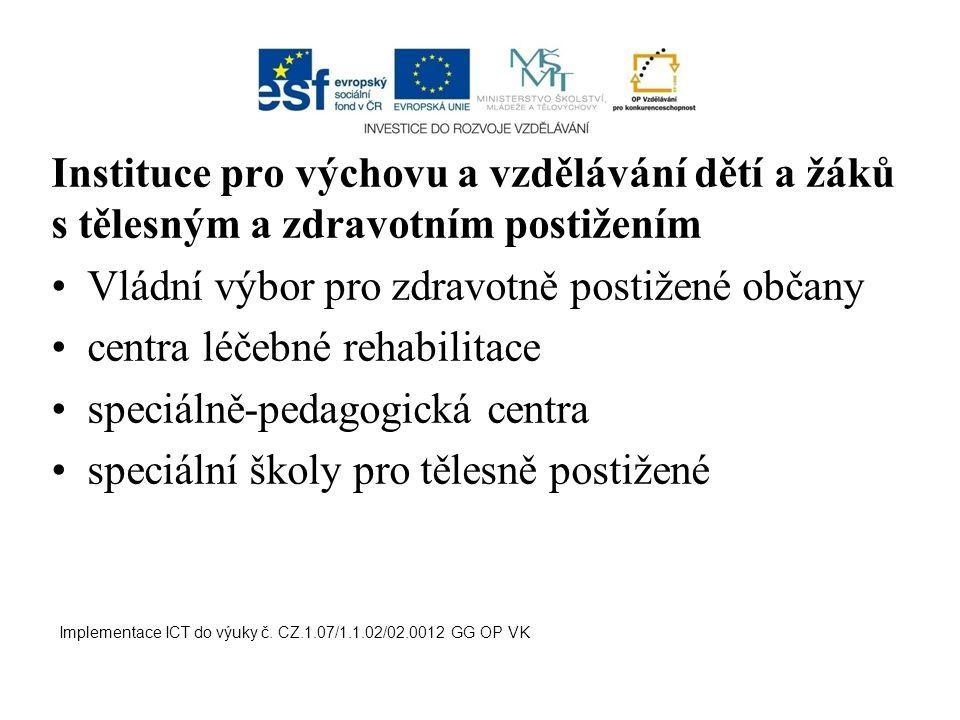 Vládní výbor pro zdravotně postižené občany