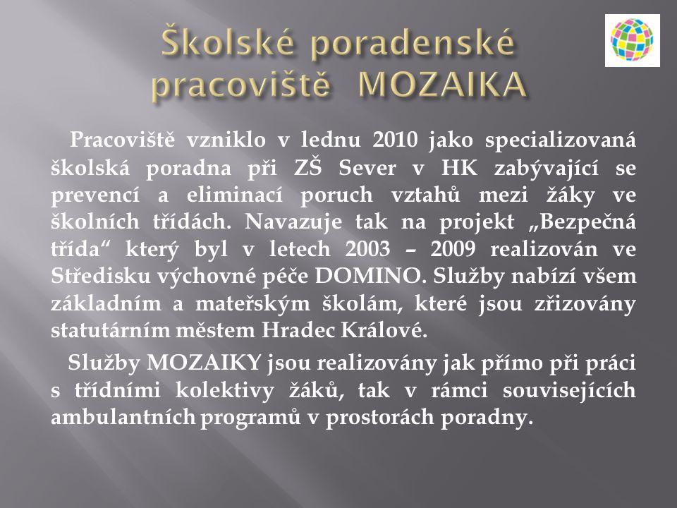 Školské poradenské pracoviště MOZAIKA
