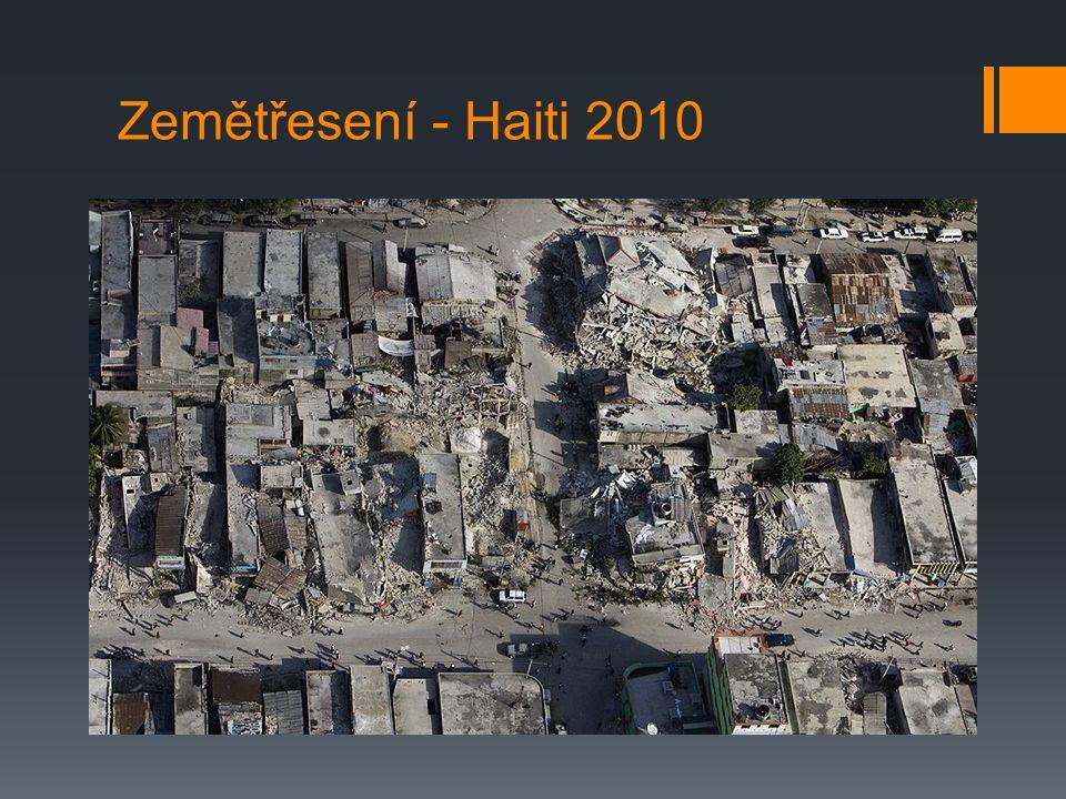 Zemětřesení - Haiti 2010