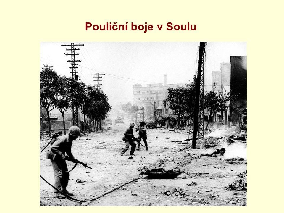 Pouliční boje v Soulu