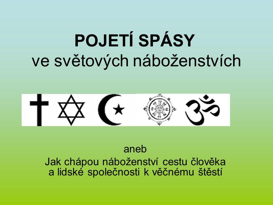 POJETÍ SPÁSY ve světových náboženstvích