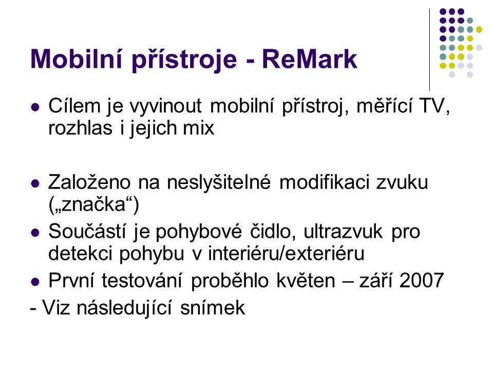 Mobilní přístroje - ReMark