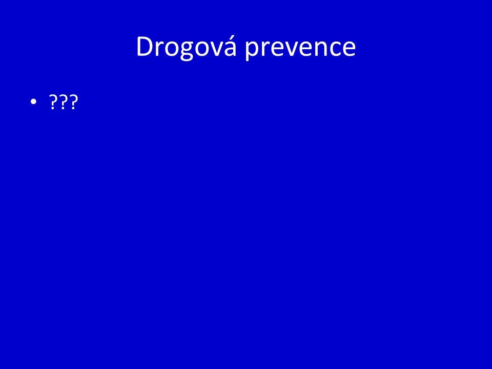 Drogová prevence