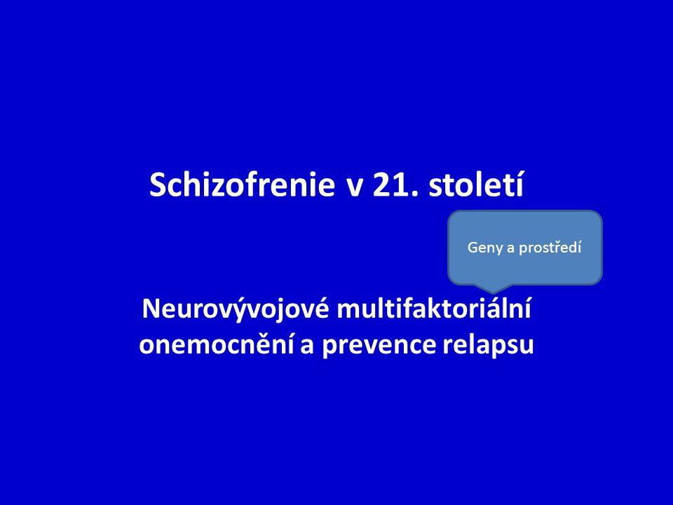 Schizofrenie v 21. století