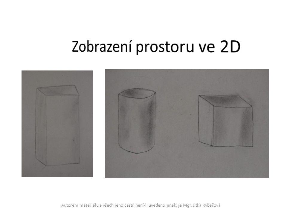 Zobrazení prostoru ve 2D