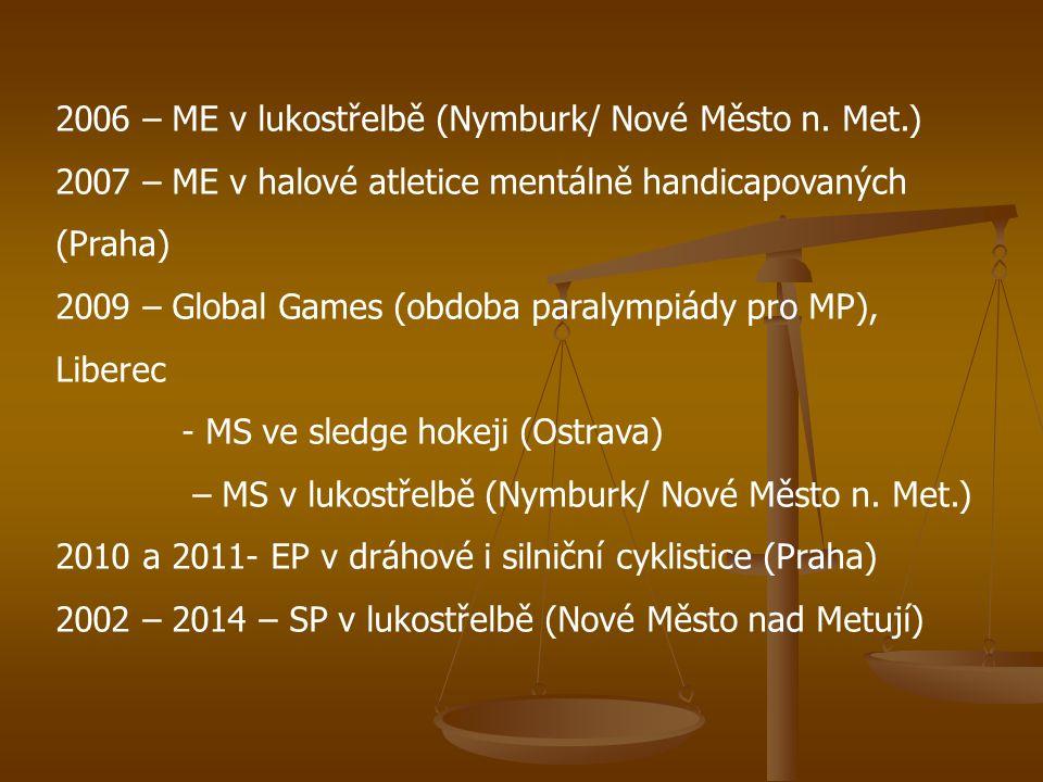 2006 – ME v lukostřelbě (Nymburk/ Nové Město n. Met.)