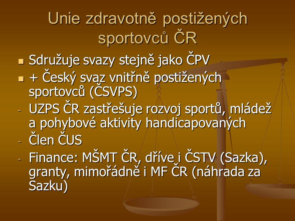 Unie zdravotně postižených sportovců ČR