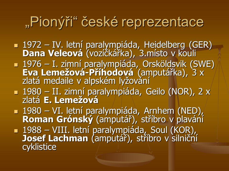 """""""Pionýři české reprezentace"""
