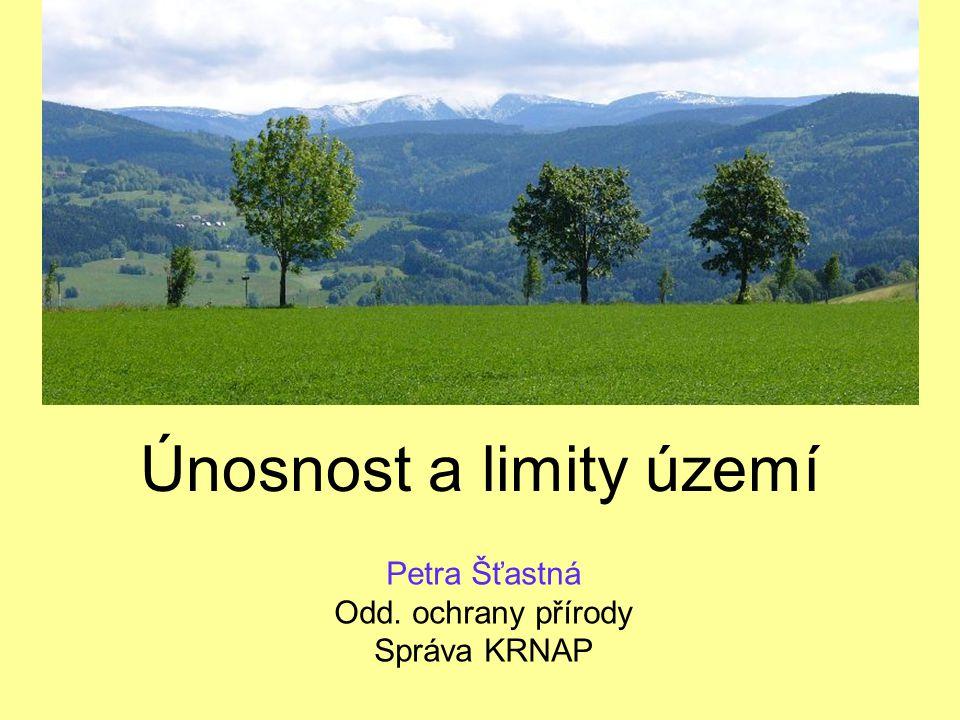 Únosnost a limity území