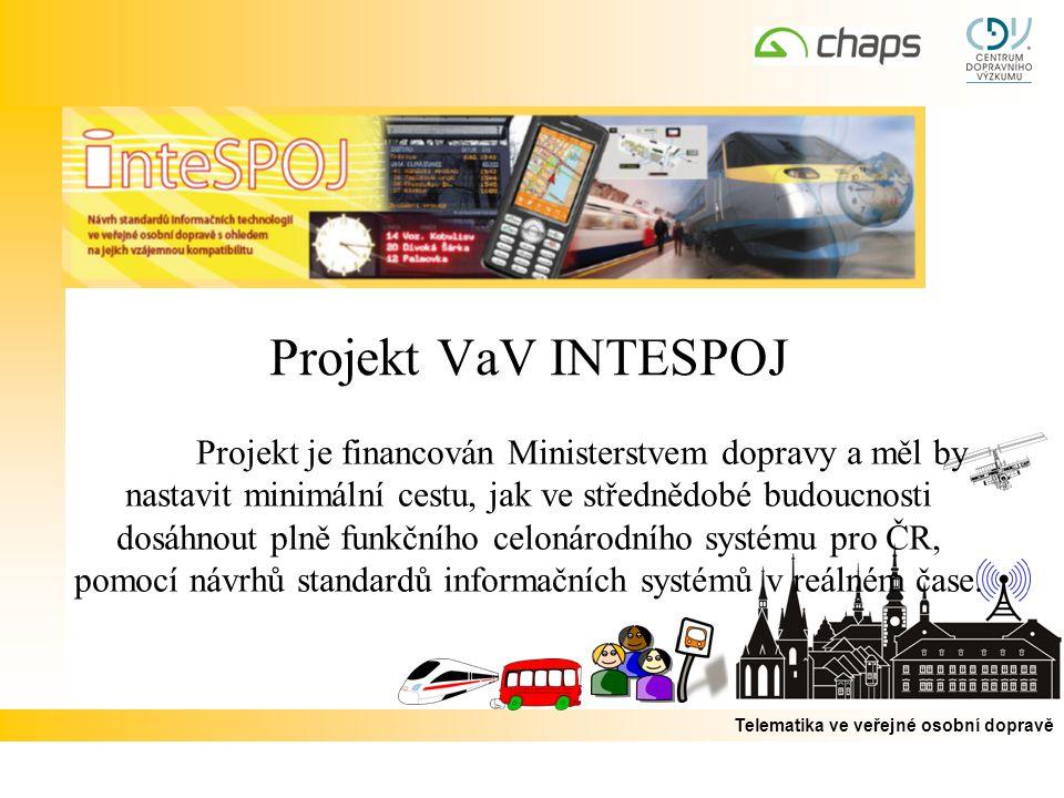 Projekt VaV INTESPOJ