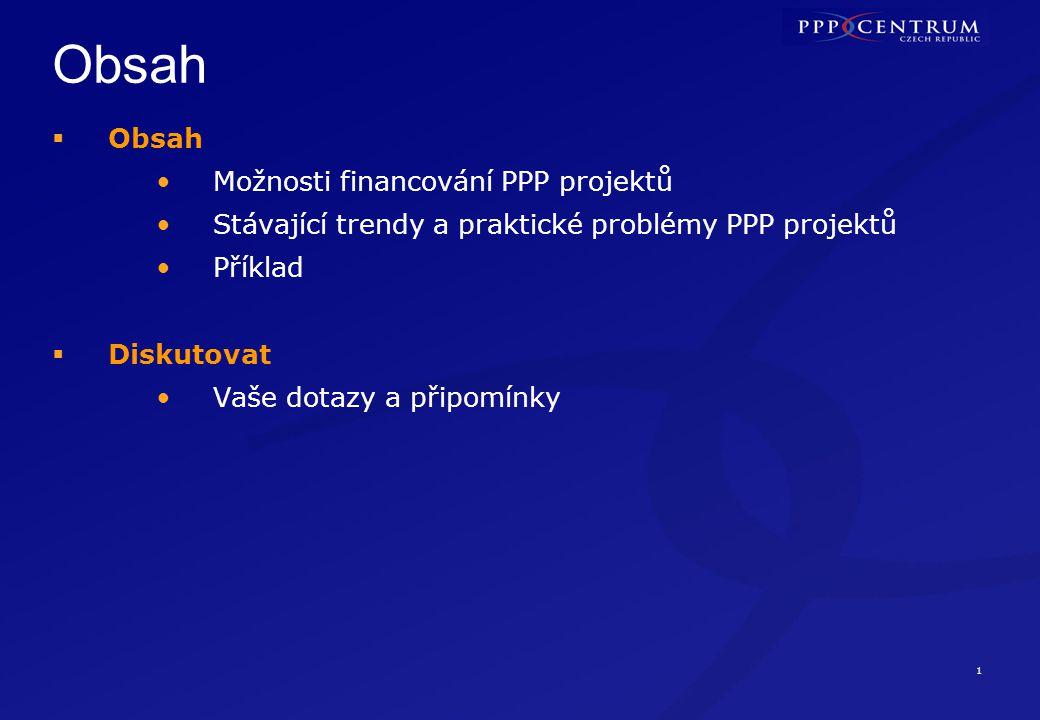 Možnosti financování PPP projektů
