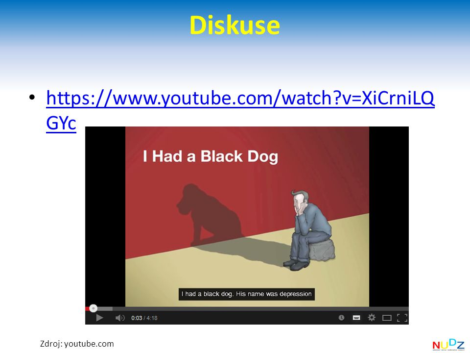 Diskuse https://www.youtube.com/watch v=XiCrniLQGYc Zdroj: youtube.com