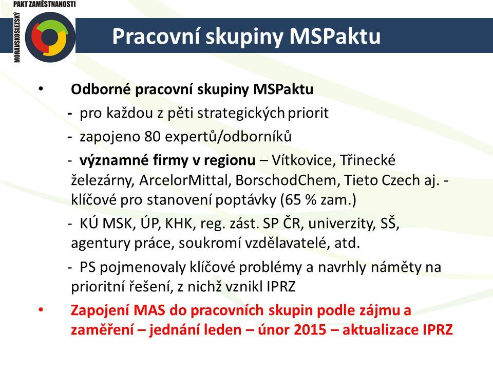 Pracovní skupiny MSPaktu