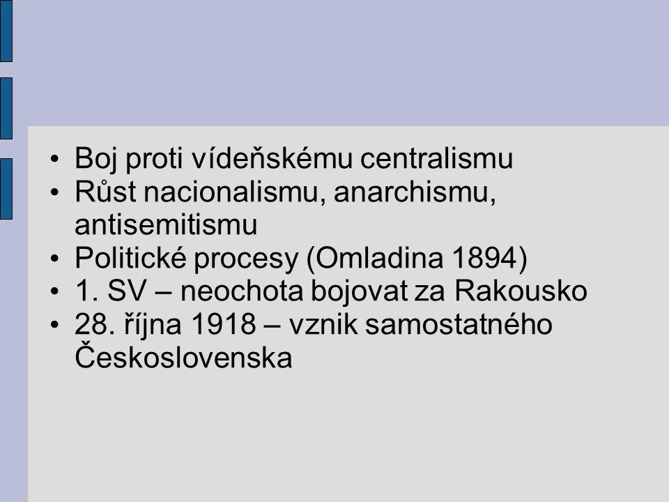 Boj proti vídeňskému centralismu