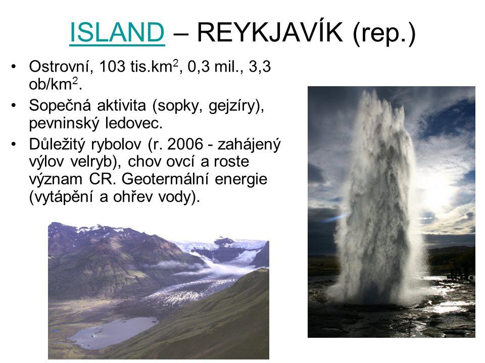 ISLAND – REYKJAVÍK (rep.)