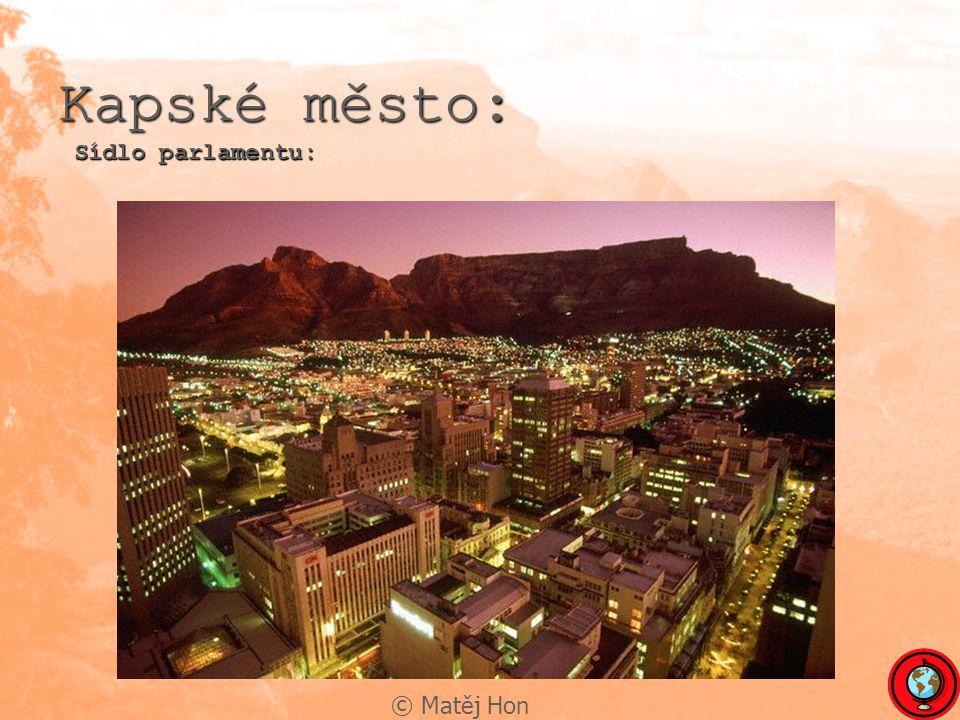 Kapské město: Sídlo parlamentu: © Matěj Hon