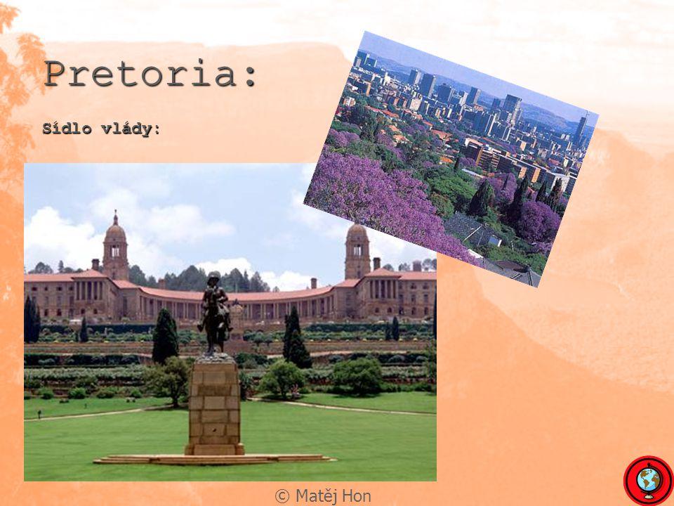 Pretoria: Sídlo vlády: © Matěj Hon