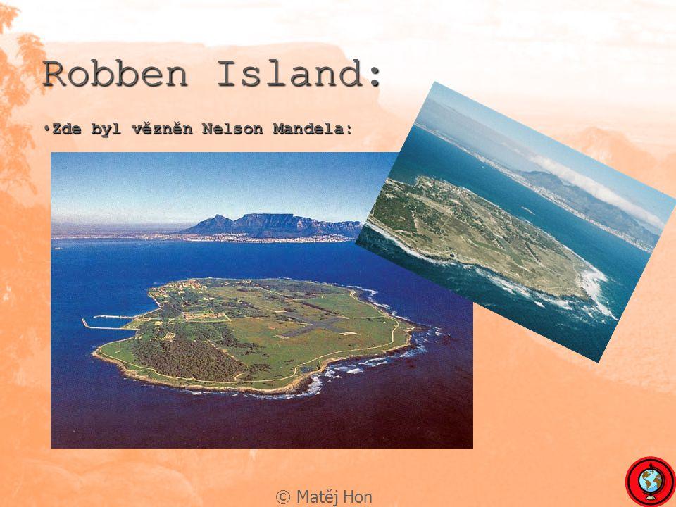 Robben Island: Zde byl vězněn Nelson Mandela: © Matěj Hon