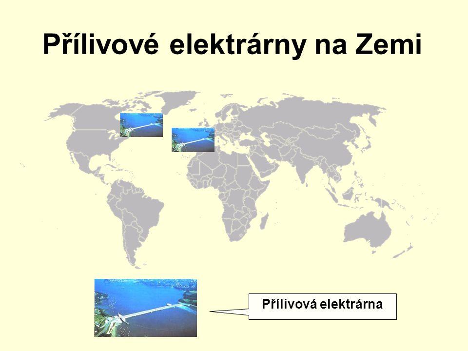 Přílivové elektrárny na Zemi