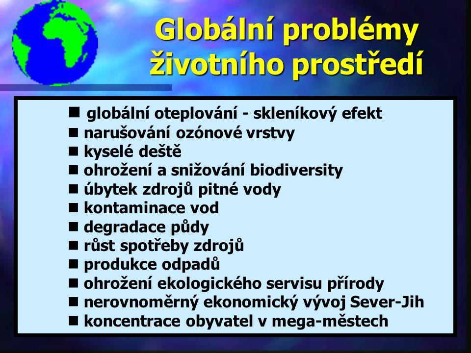 Globální problémy životního prostředí