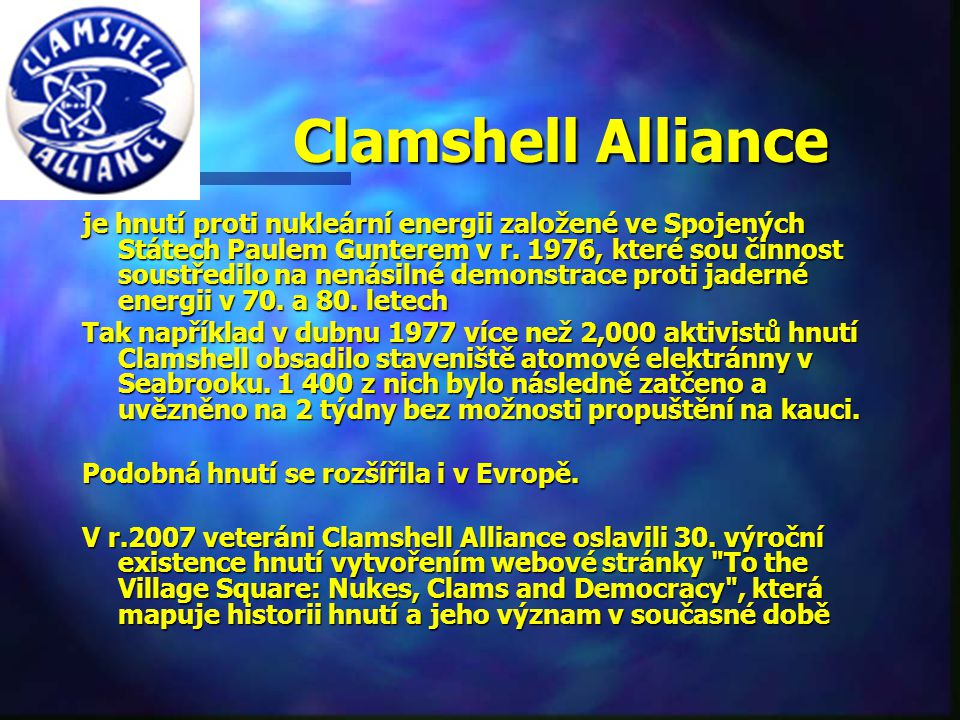 Clamshell Alliance