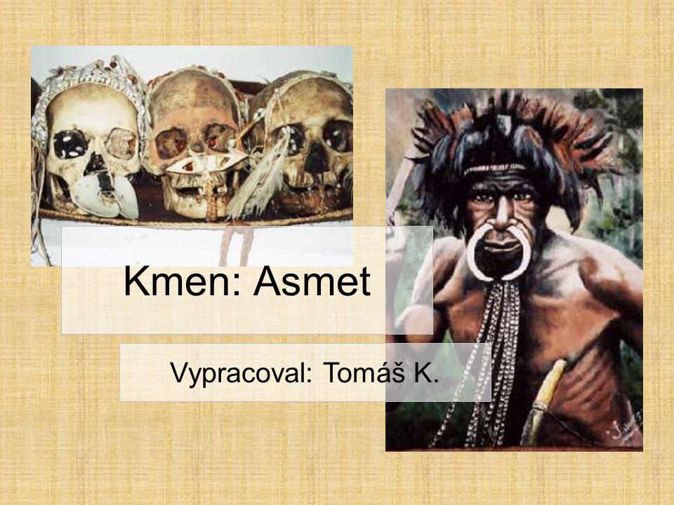 Kmen: Asmet Vypracoval: Tomáš K.
