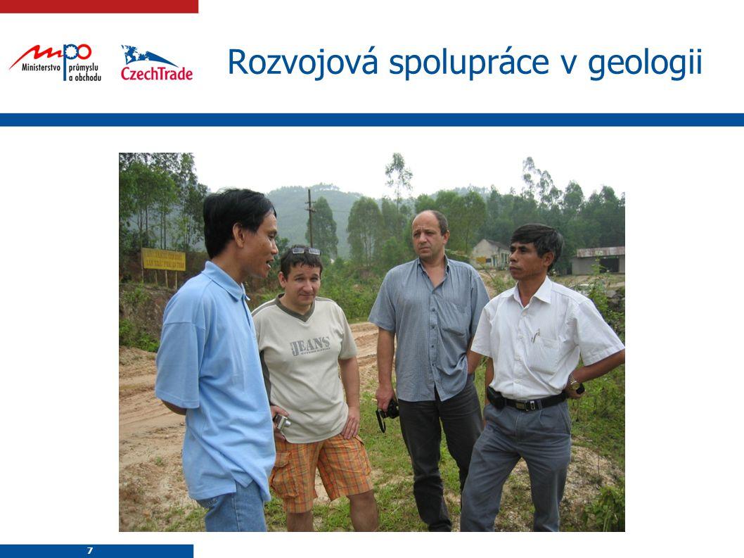 Rozvojová spolupráce v geologii