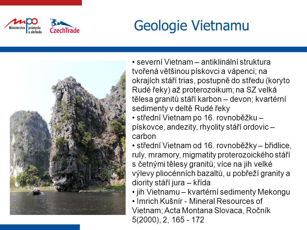 Geologie Vietnamu