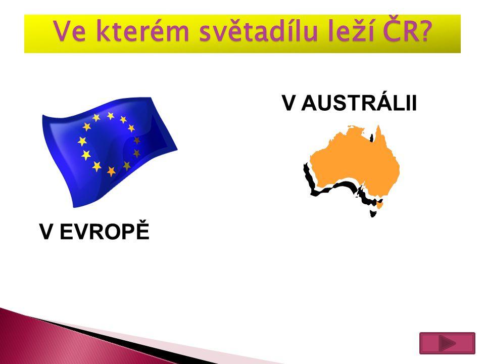 Ve kterém světadílu leží ČR