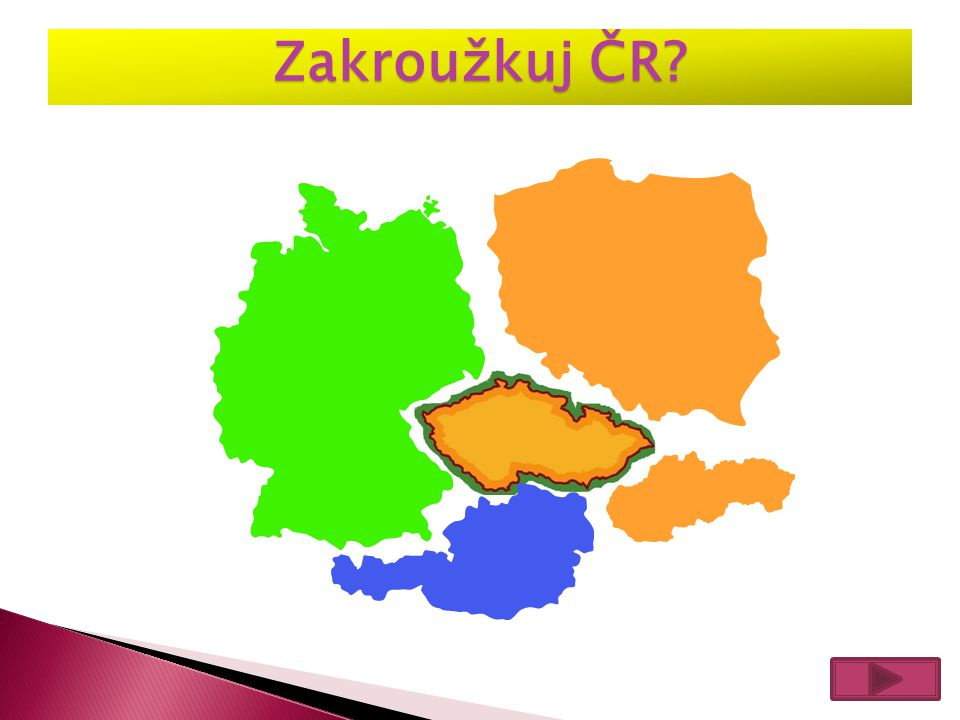 Zakroužkuj ČR