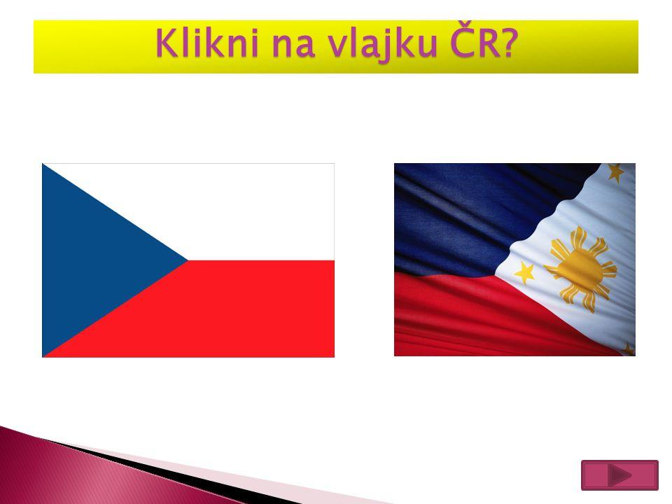 Klikni na vlajku ČR
