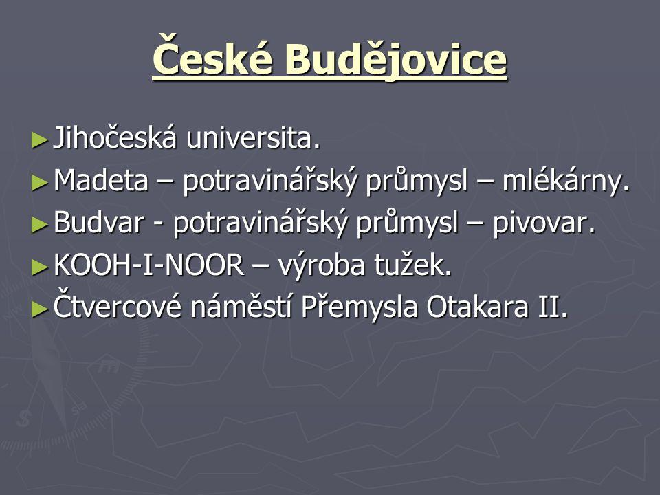 České Budějovice Jihočeská universita.