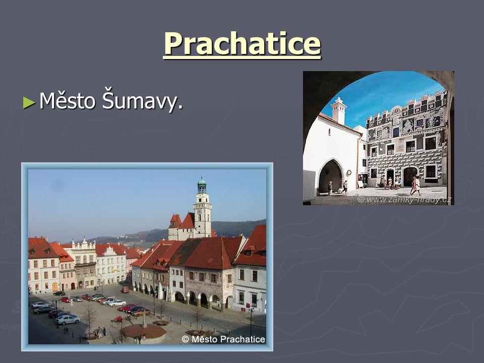 Prachatice Město Šumavy.