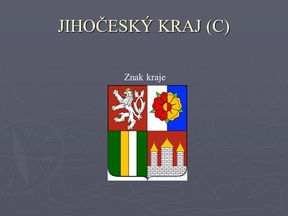 JIHOČESKÝ KRAJ (C) Znak kraje