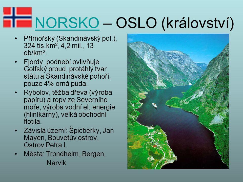 NORSKO – OSLO (království)