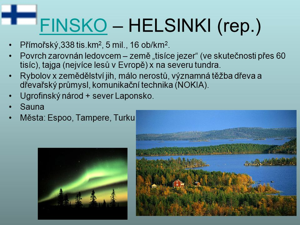 FINSKO – HELSINKI (rep.)