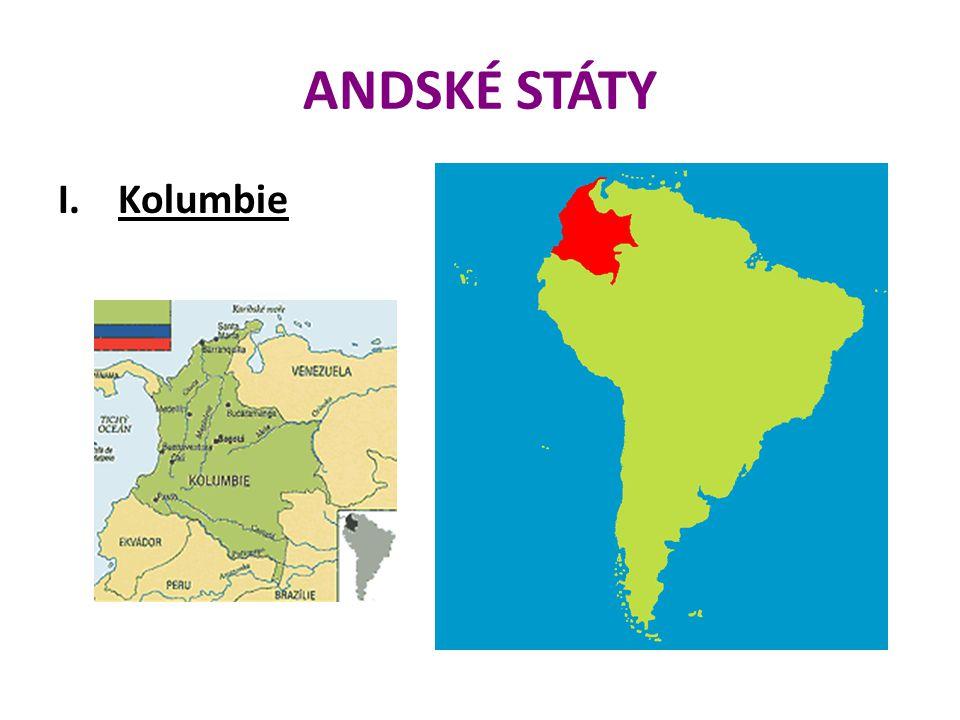 ANDSKÉ STÁTY Kolumbie