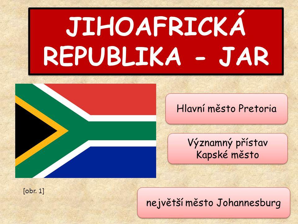 JIHOAFRICKÁ REPUBLIKA - JAR
