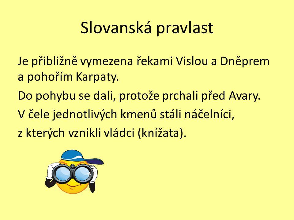 Slovanská pravlast