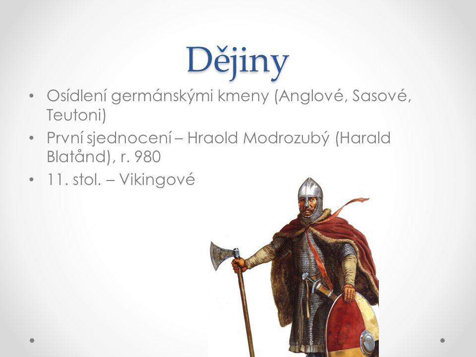 Dějiny Osídlení germánskými kmeny (Anglové, Sasové, Teutoni)