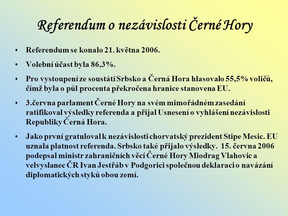 Referendum o nezávislosti Černé Hory