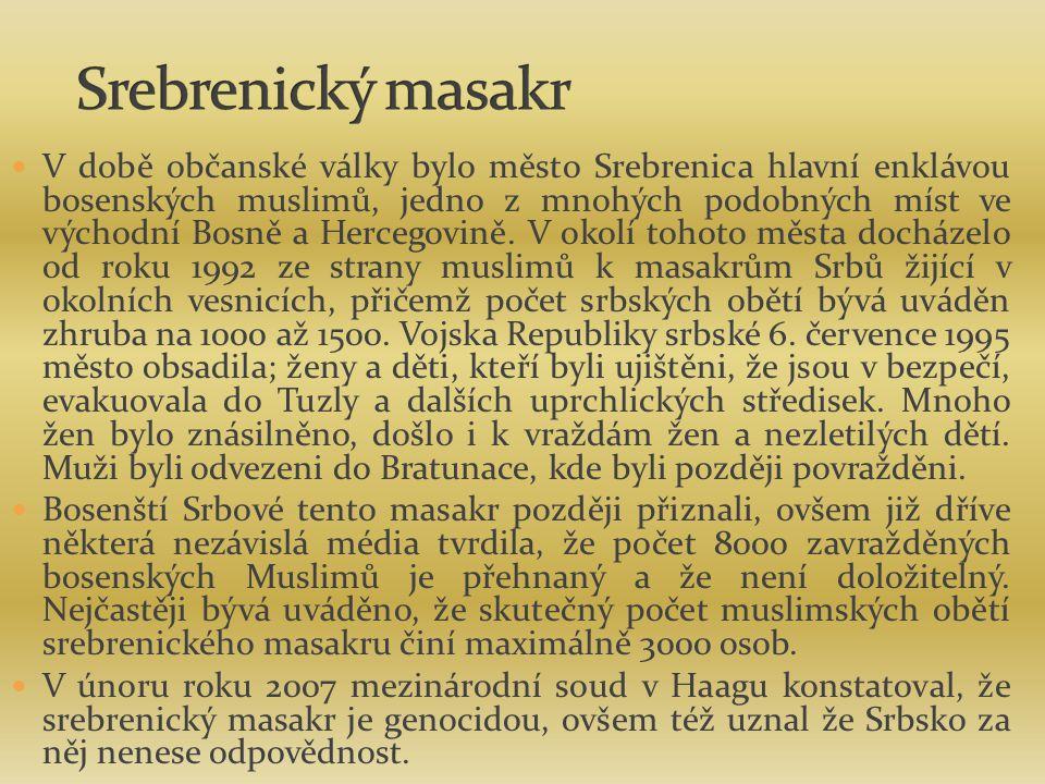 Srebrenický masakr
