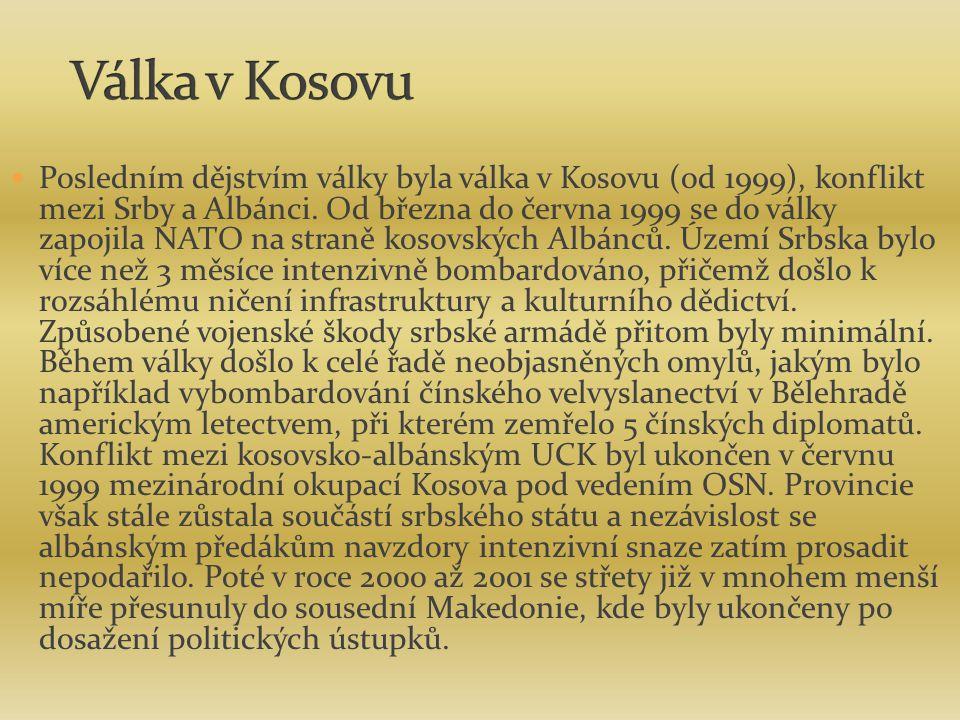 Válka v Kosovu