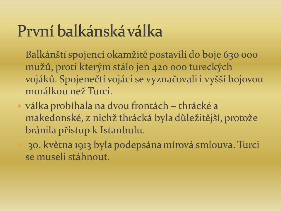 První balkánská válka